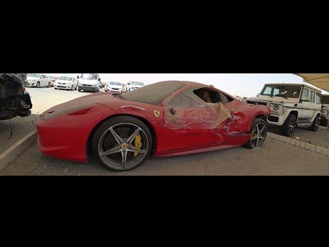Покупка битых авто в Dubai,Авторазборки Dubai - Прикольное видео онлайн