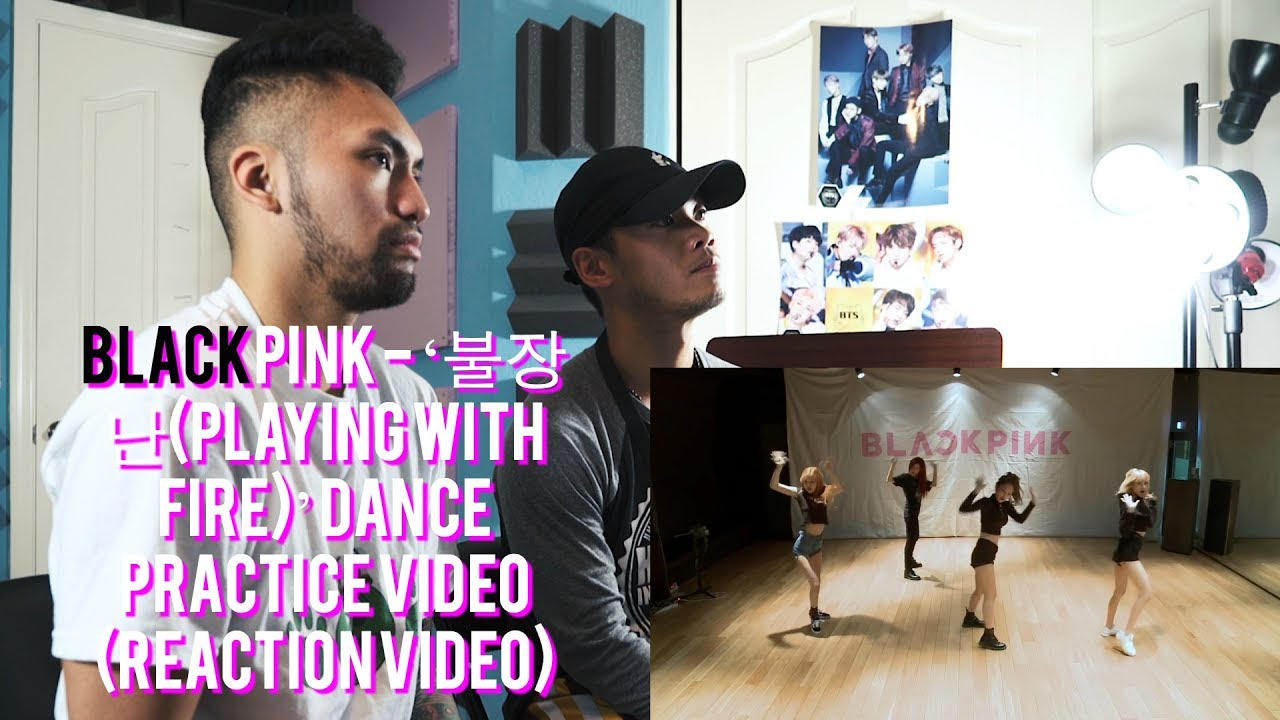 Blackpink 불장난 Playing With Fire Dance Practice Video Reaction Video