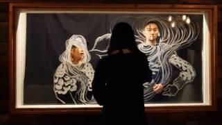 ペインターの伊倉真理恵の作品ができるまで 【Model】 いがらしめぐみ ...