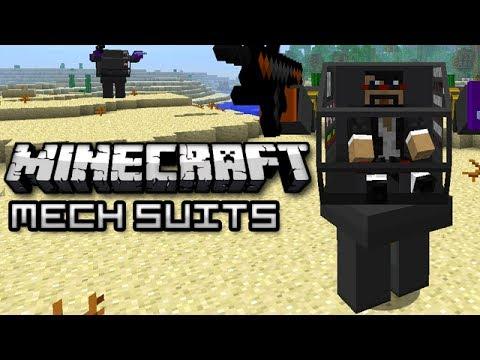 Minecraft: MECH SUITS! (Flan