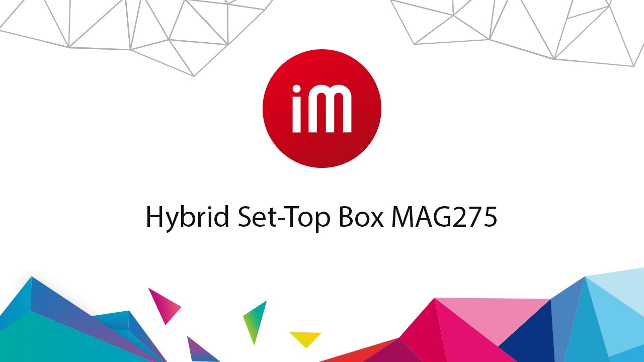 Beste Hybrid IPTV Set-Top Box MAG275 - YouTube WP-31