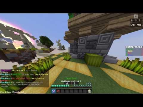 Minecraft Bedwars #1 Erste Aufnahme auf meinem neuen Kanal c: