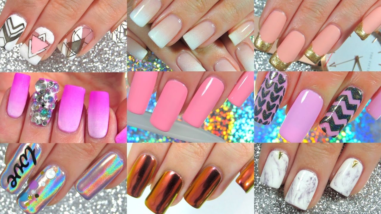 AMAZING NAIL ART IDEAS COMPILATION #1 Best Nail Designs ...