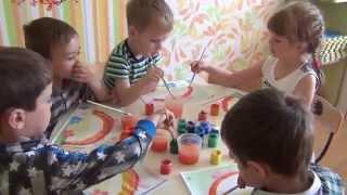 Занятие по рисованию для детей до 6 лет