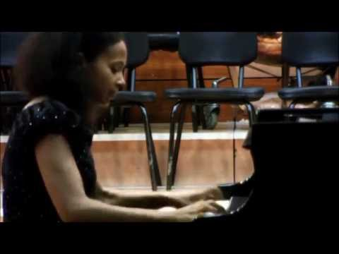 Fred Onovwerosuoke - Studies in African Rhythms: #24 Raging River, Rebeca Omordia piano
