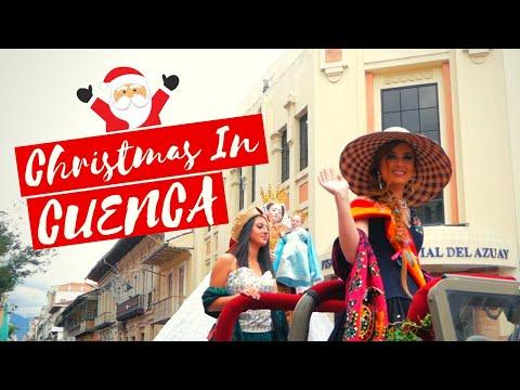 Cuenca Ecuador Christmas Parade: Pase Del Niño