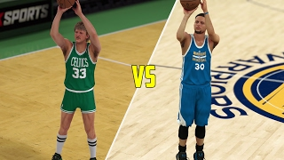 STEPH CURRY VS LARRY BIRD - WHO IS THE GREATEST THREE POINT SHOOTER (ROUND 1)