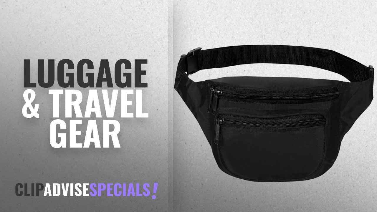ccec9caf7d 10 Best Selling BuyAgain Luggage   Travel Gear  2018    Fanny Pack ...