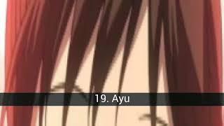 Le meilleur prêtresses de l'Anime