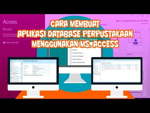 Membuat Aplikasi Java Dengan Database Access