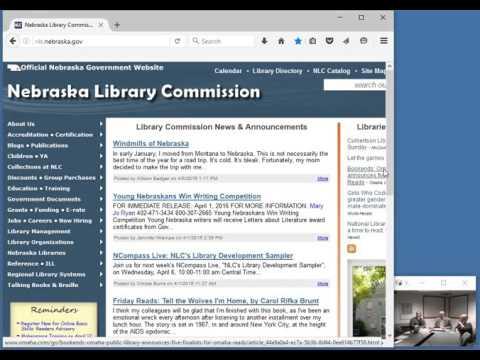NCompass Live: NLC's Library Development Sampler