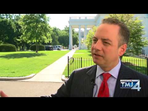 5 minutes with White House Chief of Staff Reince Priebus