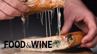 Broccoli Rabe & Provolone Panini   Recipe   Food & Wine