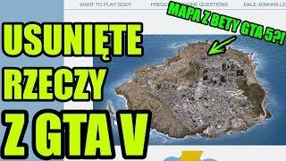 STARA MAPA GTA 5?! USUNIĘTE RZECZY Z GTA V #4   Easter Eggs