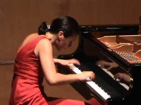 Tamar Beraia plays Prokofiev toccata op.11