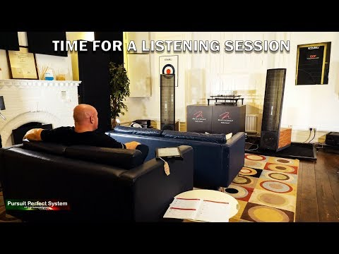 Martin Logan ESL 13A Electrostatic HiFi Speakers Info & DEMO I Visit PMC HQ PART 2