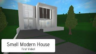 Small Modern House / Roblox Bloxburg / 29k