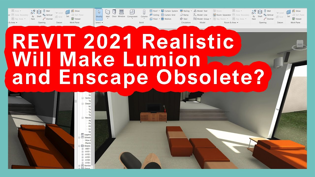 Will Revit 2021's new realistic mode make Lumion and Enscape redundant?