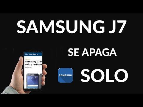 Samsung J7 se Apaga solo y no Prende
