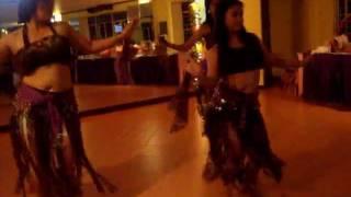 Christmas Party @ JFC -6- (12.05.11) Belly Dancing (Tina, Marilyn, & Belinda)