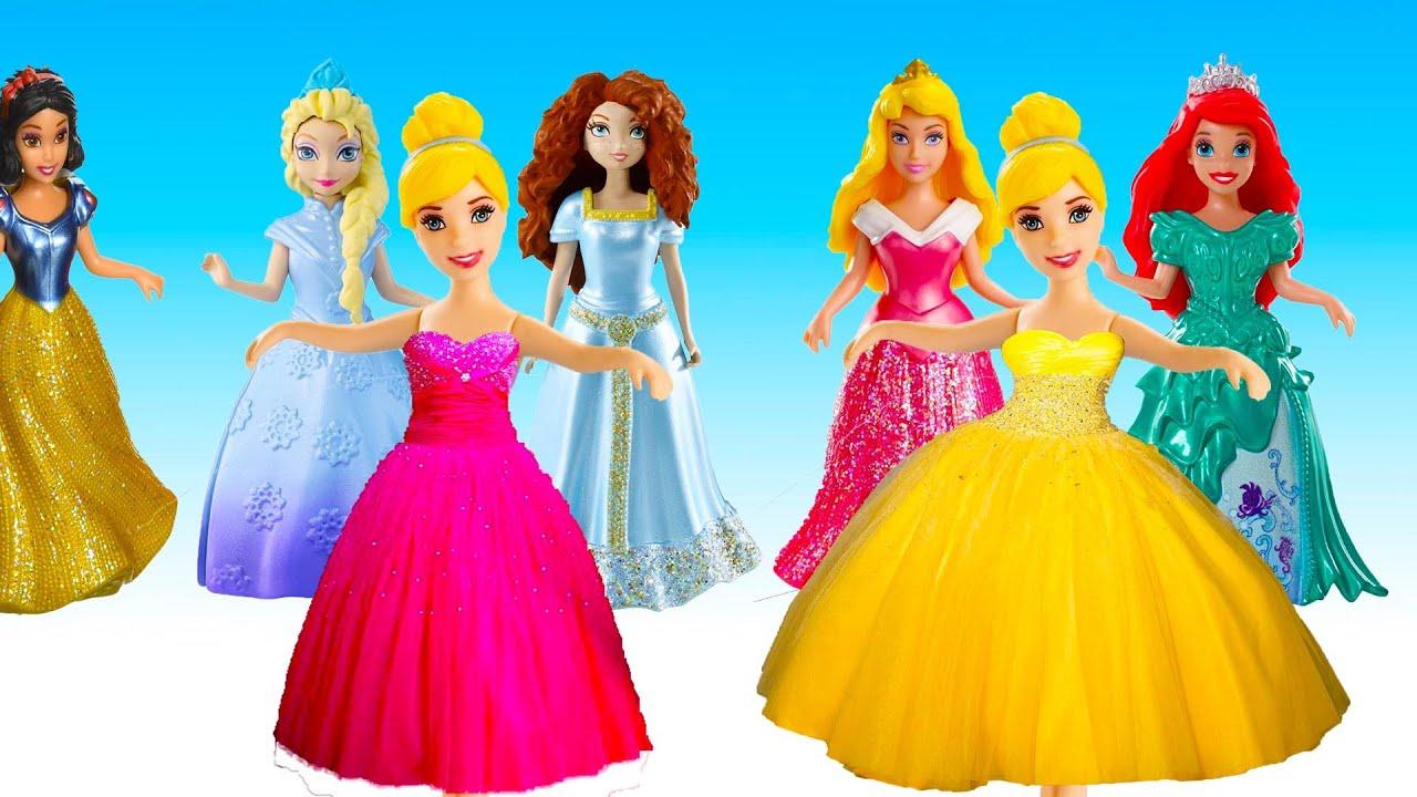Disney Princess Dress up Party with Ariel , Aurora, Elsa ,Cinderella ...