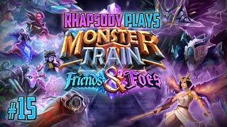 Let's Play Monster Train Friends & Foes: Primordium Gives Multistrike | Covenant 25 - Episode 15