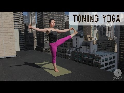 Toning Yoga Routine: Spiral Dynamic (intermediate level)