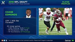 Chase Edmonds 2018 NFL Draft Profile