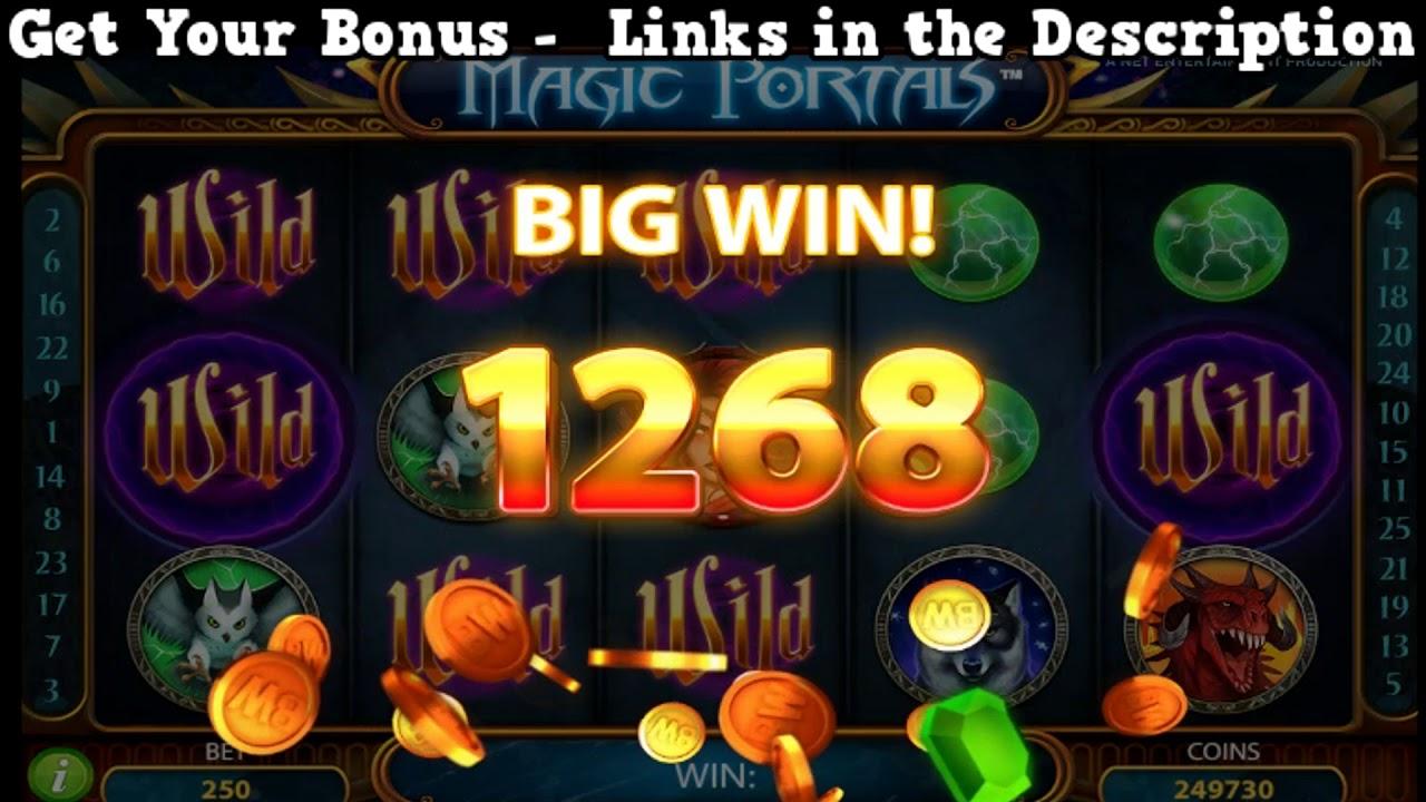 Slot magic portals