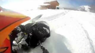 snowmobiling deep powder summit 800 Thumbnail