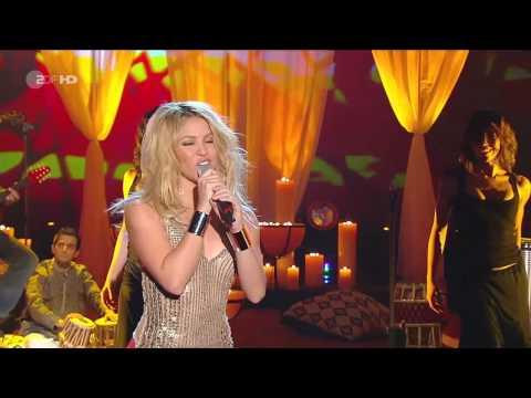Shakira - Gypsy (Live Wetten Dass 27-03-10)