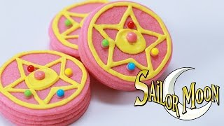 SAILOR MOON BROOCH PINATA COOKIES - NERDY NUMMIES Thumbnail