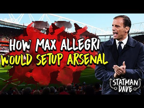 How Would Max Allegri Set Up Arsenal | Starting XI, Formation & Transfers