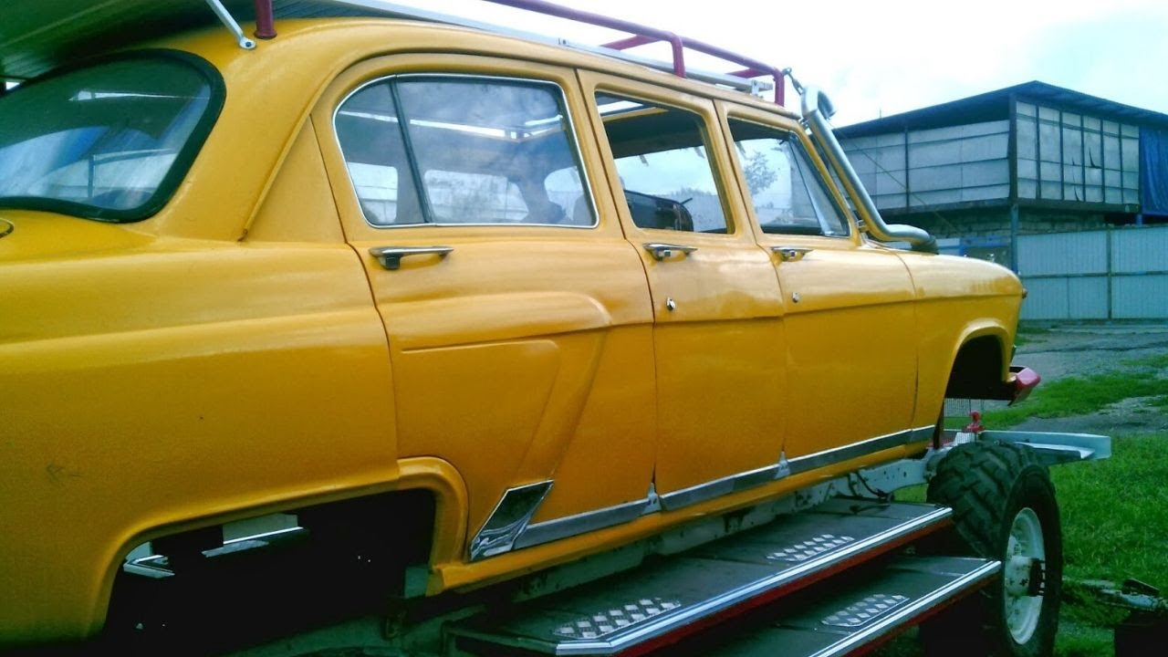Волга Джип 4x4 на базе ГАЗ 66 с коробкой ЗИЛ
