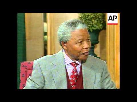 South Africa - Mandela Interview
