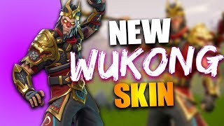 FORTNITE BATTLE ROYALE DRAGON SKINS - NOUVEAU WUKONG SKIN AND AXE - FORTNITE BATTLE ROYALE 120