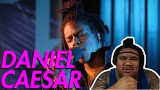 Daniel Caesar - Get You (Live) [MUSIC REACTION]
