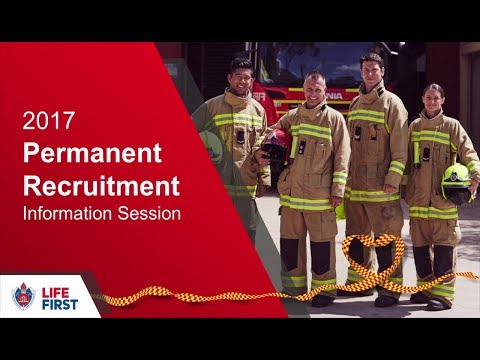 FRNSW 2017 Permanent Firefighter Recruitment Information Session