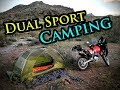 Solo Motorcycle Camping || Honda XR650L