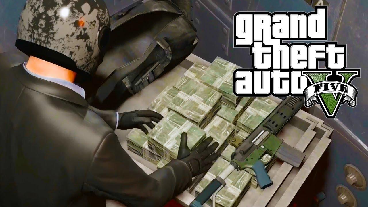 Cướp Ngân hàng ( Bank Heist ) vs Tấn Công Trụ Sở YouTube Trong GTA V #1 500 Hy Sinh – ThanhTrungGM