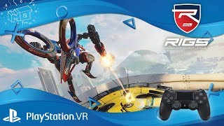 RIGS™ Mechanized Combat League / playstation VR... lets play / deutsch / german