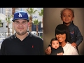 Blac Chyna LEAVES Rob Kardashian Out Of Family Portrait & Shares Naked Pic Covered In Paint