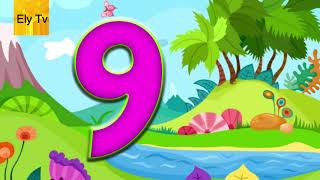 Learn numbers for babies – Numbers 1 to 10 for kids