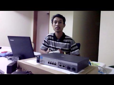 vidio cara setting wifi controller HP msm720 series