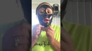 First Time Try-On Charcoal Mask