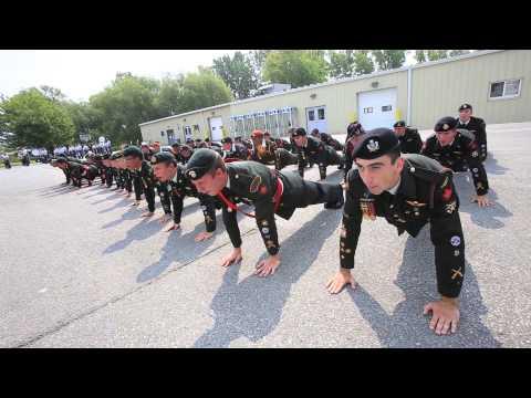 ARMY CADETS CF BASIC PARACHUTIST COURSE TRENTON ONTARIO