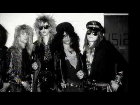 GUNS N' ROSES I migliori brani degli album dal 1987 al 1993