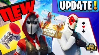 *NEW* FORTNITE V5.40 UPDATE NEW WILDCARD SKIN + HIGH STAKES EVENT + GRAPPLER WEAPON