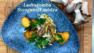 Húsmentes Stroganoff - Bicsár Attila, chef