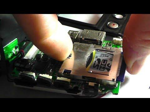 Если карта памяти SD не фиксируется и выскакивает из слота. Что бывает
